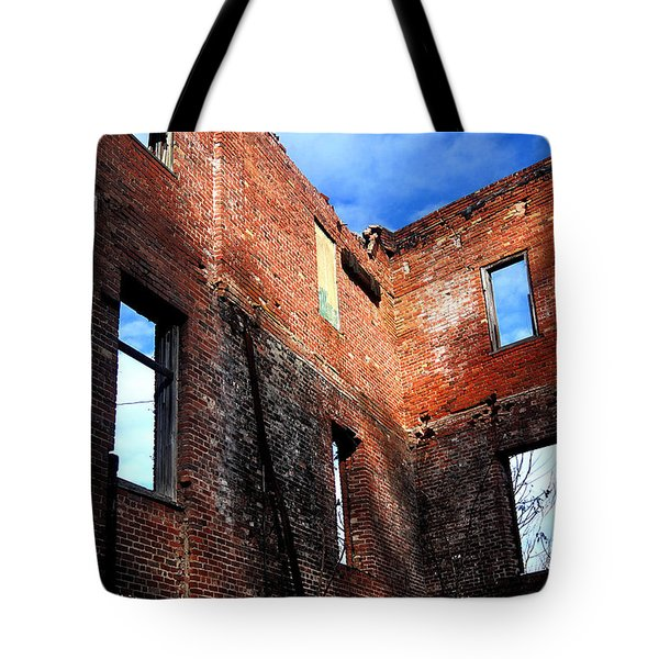 Burn Victim Tote Bag