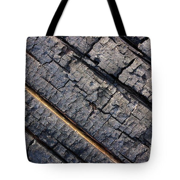 Burnt Bark Tote Bag