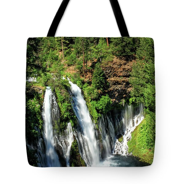 Burney Falls Tote Bag