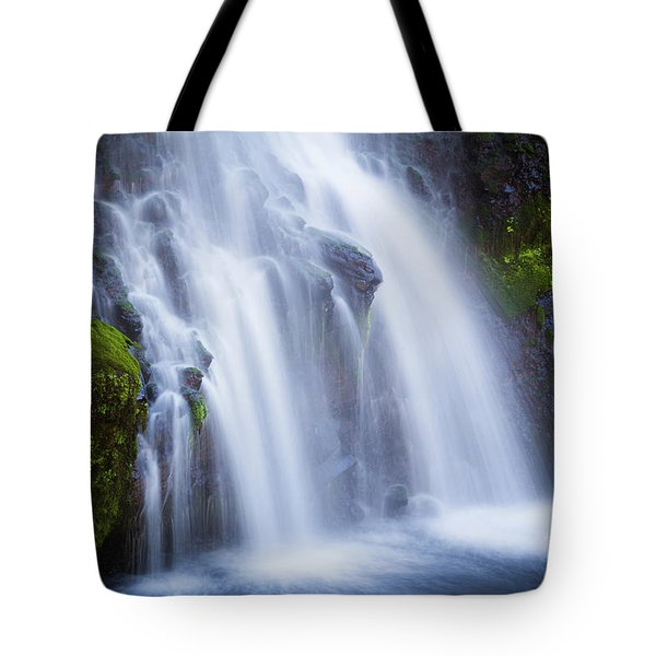 Tote Bag featuring the photograph Burney Falls  by Vincent Bonafede
