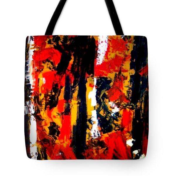 Burning Bright Tote Bag