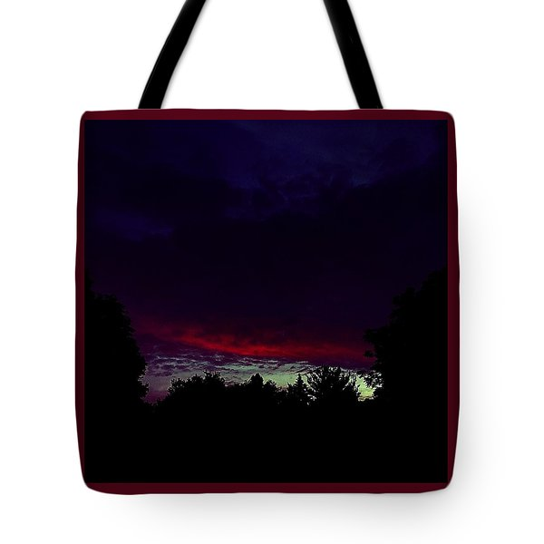 Burning Cloud Over My Head Tote Bag