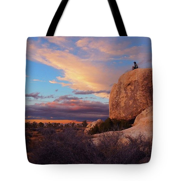 Burning Daylight Tote Bag