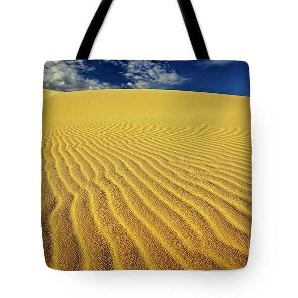 Burning Up At The White Sand Dunes - Mui Ne, Vietnam, Southeast Asia Tote Bag