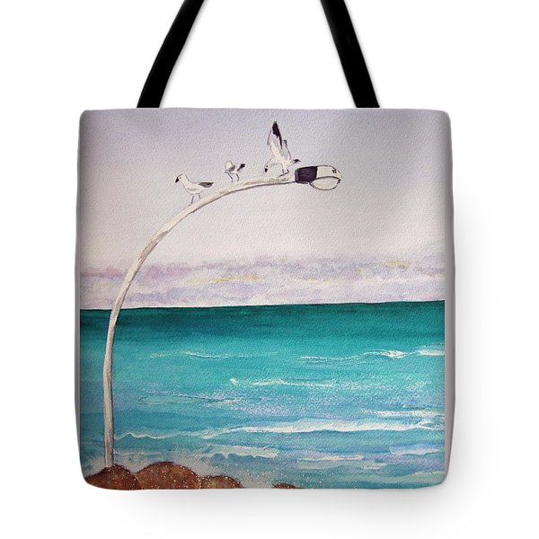 Burns Beach Tote Bag