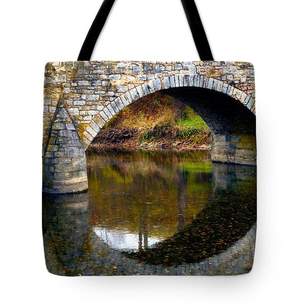 Burnside Bridge Arches  Tote Bag