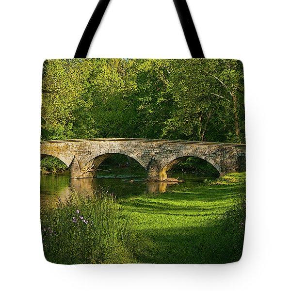 Burnside Bridge Tote Bag