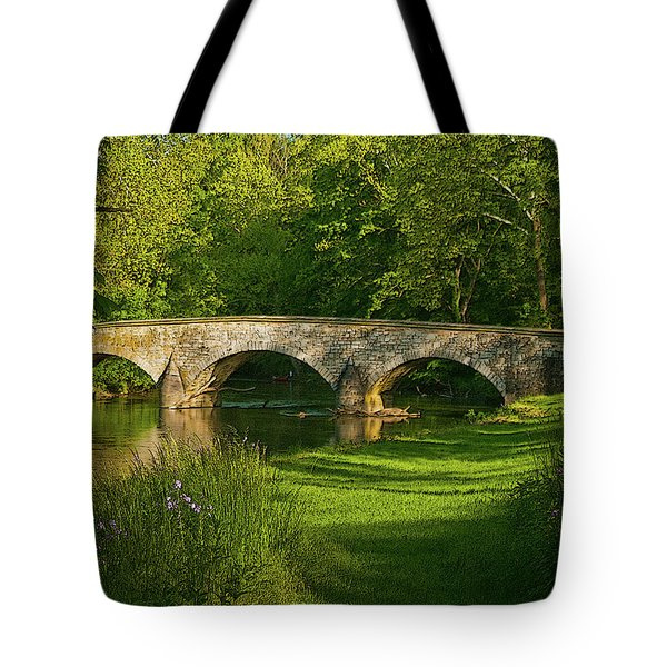 Burnside Bridge Tote Bag