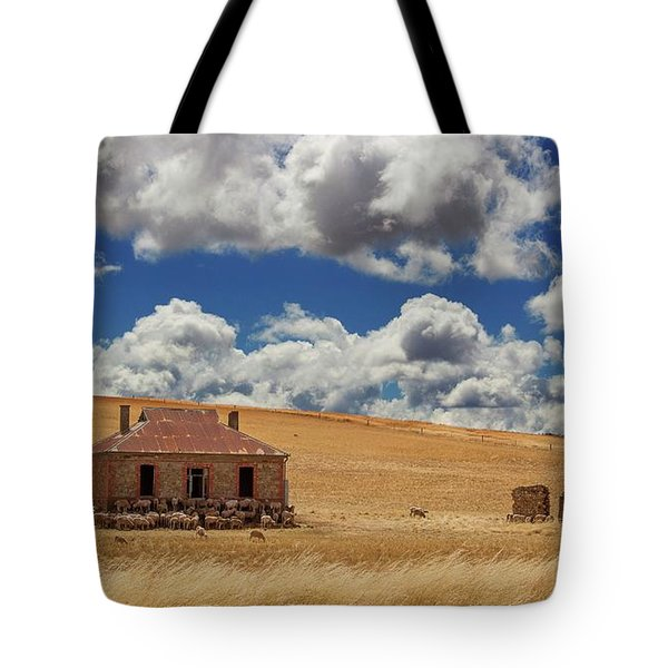 Tote Bag featuring the photograph Burra by Tim Nichols