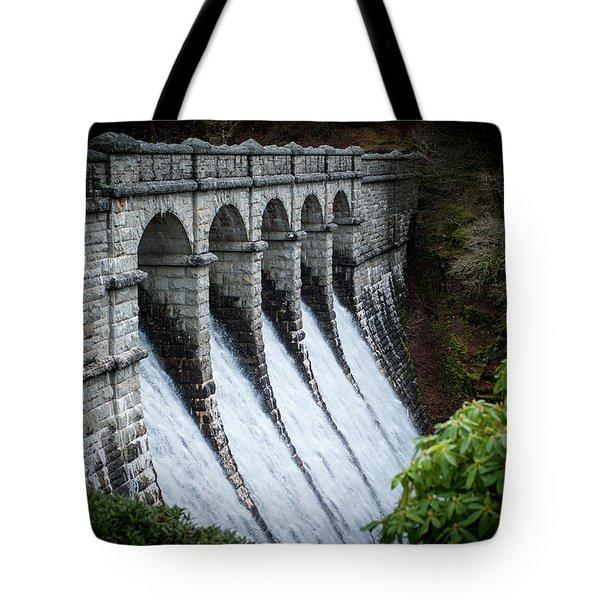 Burrator Reservoir Dam Tote Bag