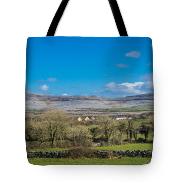 Burren Panorama Tote Bag