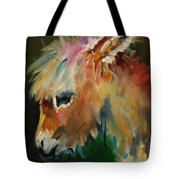 Burro Donkey Tote Bag