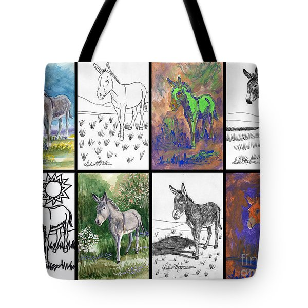 Burro Sampler #1 Tote Bag
