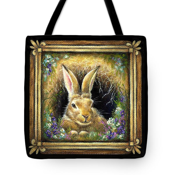Burrowing Into Tranquility Tote Bag