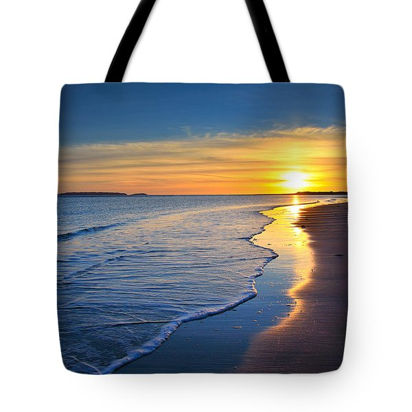 Burry Port Beach Tote Bag