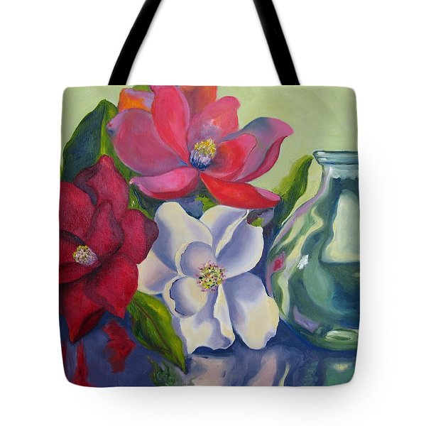 Burst Of Color Tote Bag by Lisa Boyd