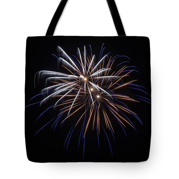 Tote Bag featuring the photograph Burst Of Elegance by Bill Pevlor