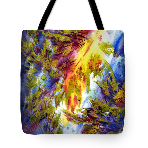 Burst Of Fall Tote Bag