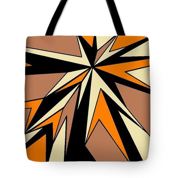 Burst Of Orange 2 Tote Bag