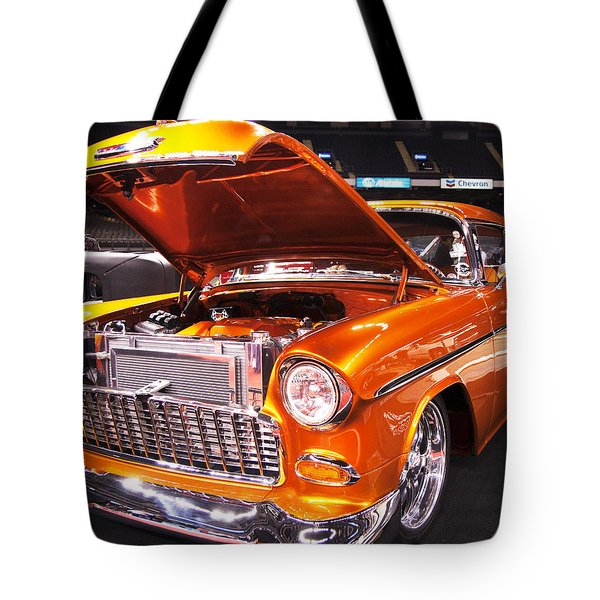 Burst Of Orange Tote Bag