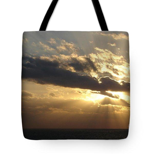 Burst Tote Bag by Priscilla Richardson