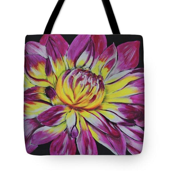 Bursting Bloom Tote Bag