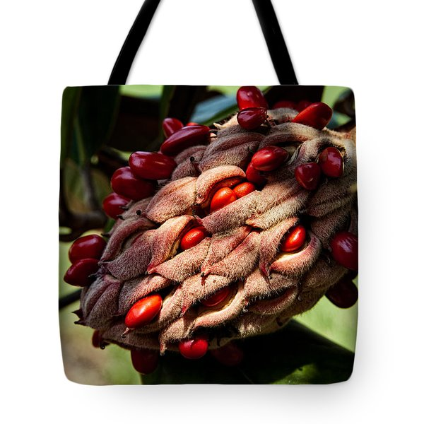 Bursting Forth Tote Bag by Christopher Holmes