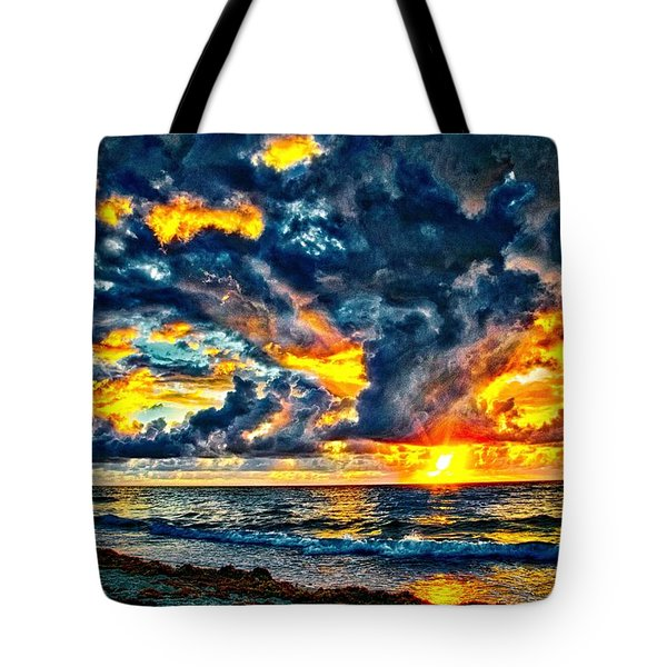 Bursting Forth Tote Bag by Dennis Baswell