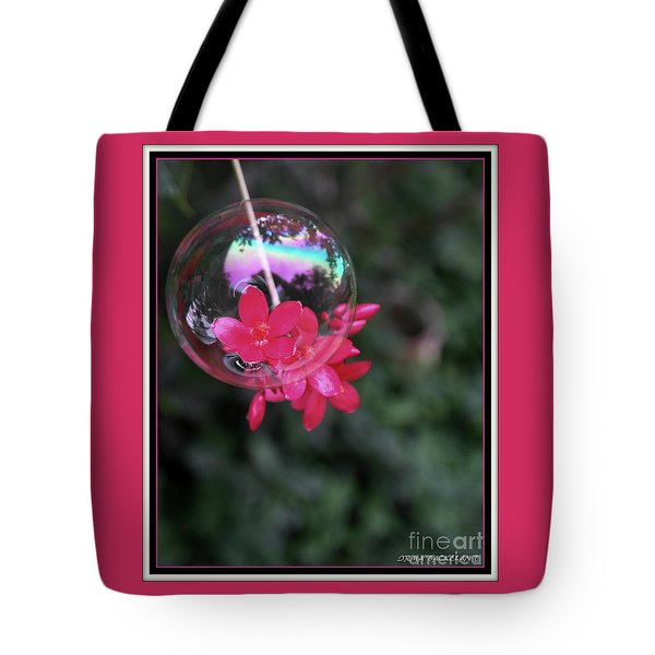 Bursting Free Tote Bag by Irma BACKELANT GALLERIES