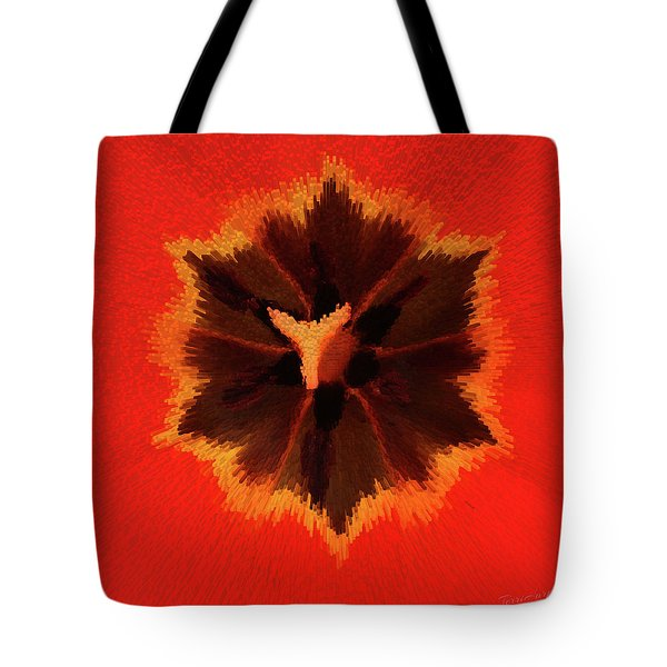 Tote Bag featuring the photograph Bursting by Terri Harper