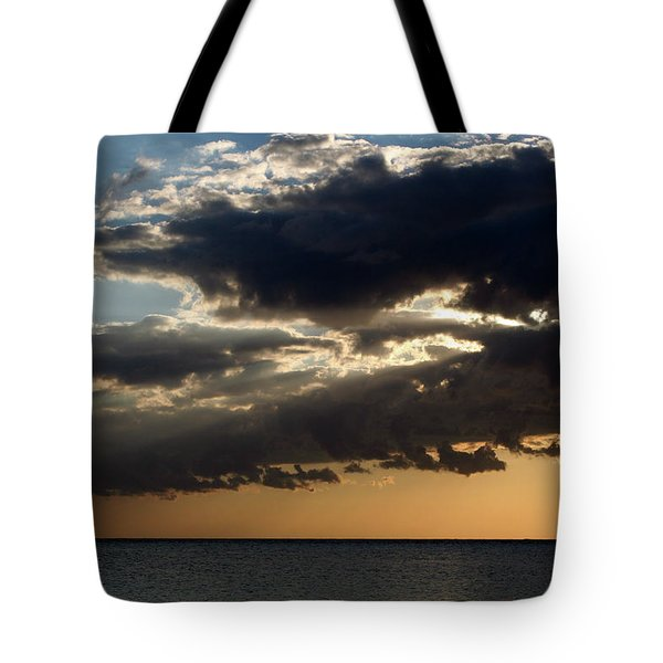 Bursting Through Tote Bag by Laurie Search