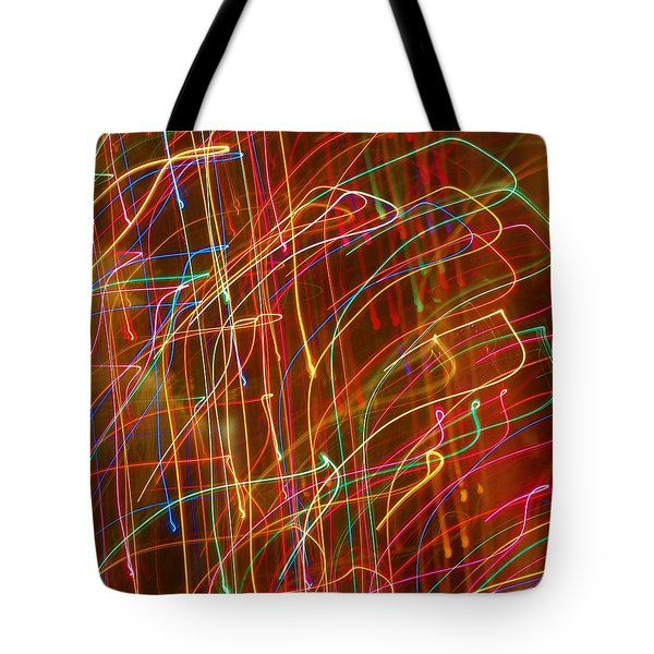 Tote Bag featuring the photograph Bursting With Colors by Ramona Whiteaker