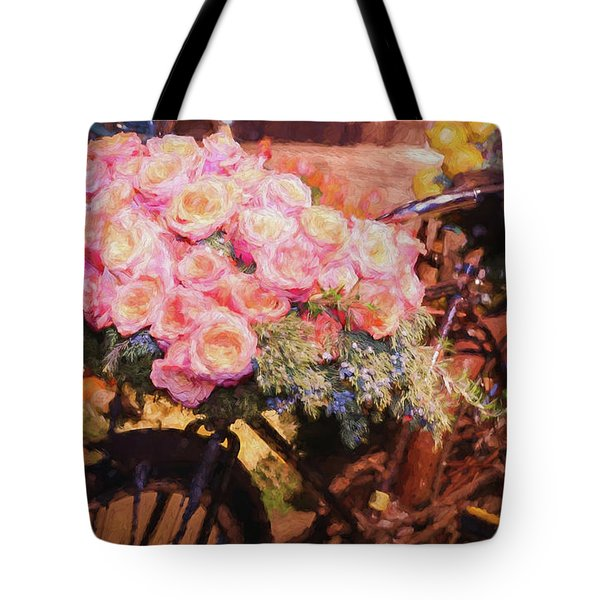 Bursting With Flowers Tote Bag