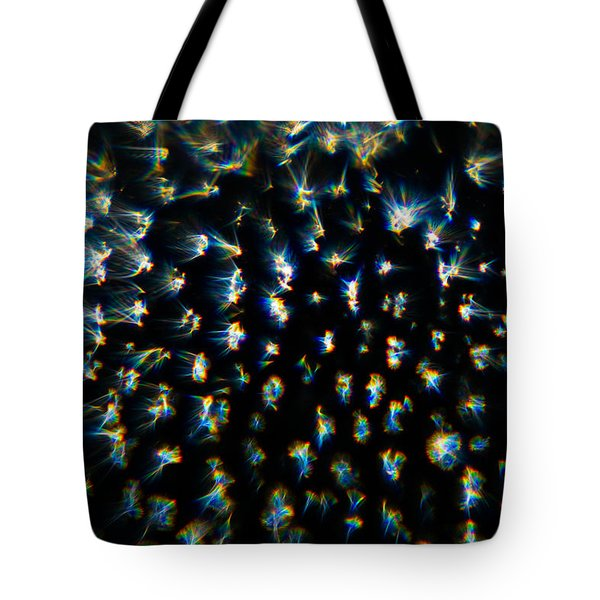 Tote Bag featuring the photograph Bursts by Greg Collins