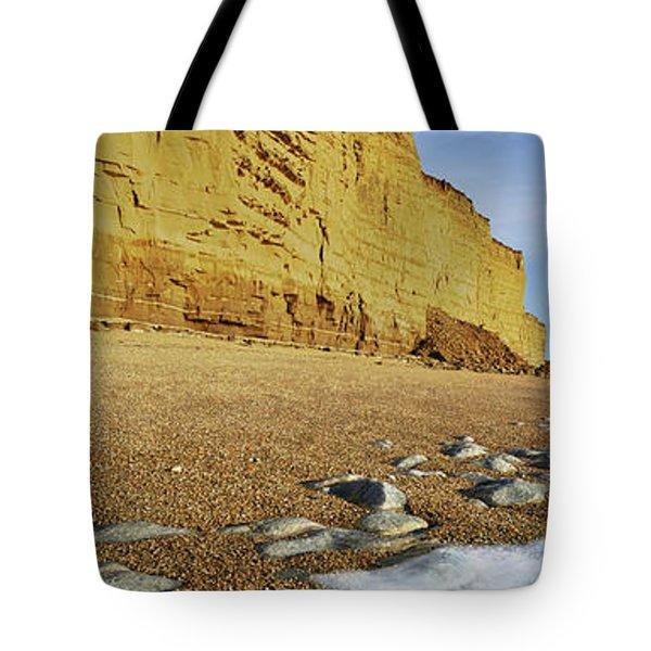 Burton Bradstock Beach Tote Bag
