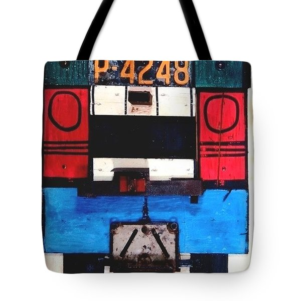 Tote Bag - NY City Tour Bus by VIDA VIDA
