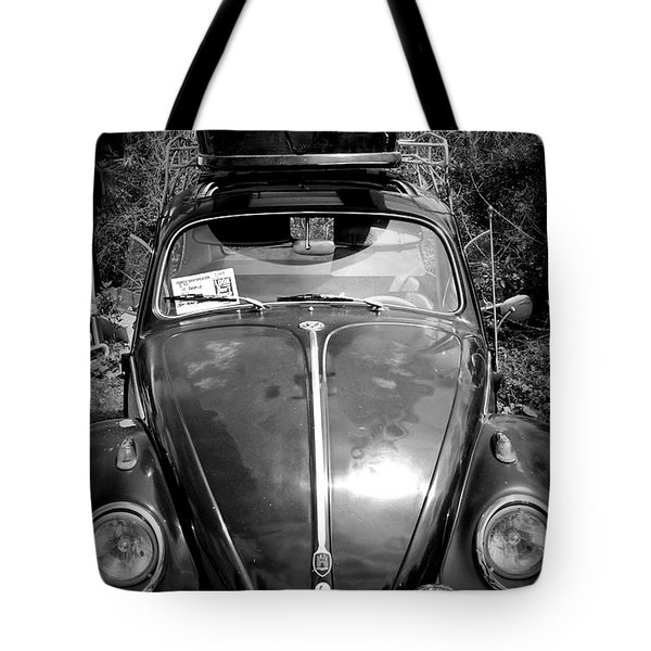 Bus On Bug Tote Bag