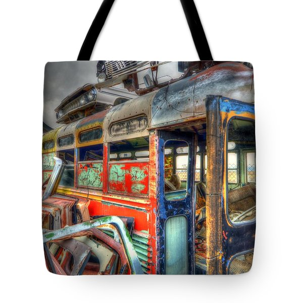 Bus Ride Tote Bag