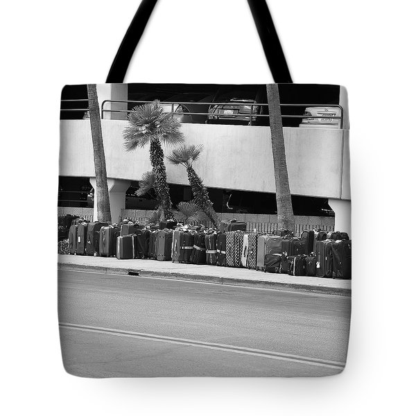Bus Station Tote Bag