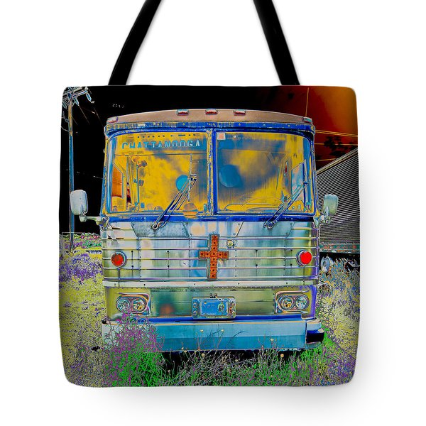 Bus To Chattanooga Tote Bag by Julie Niemela