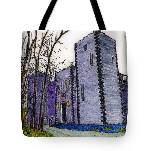 Busboom Castle Tote Bag by Phil Strang