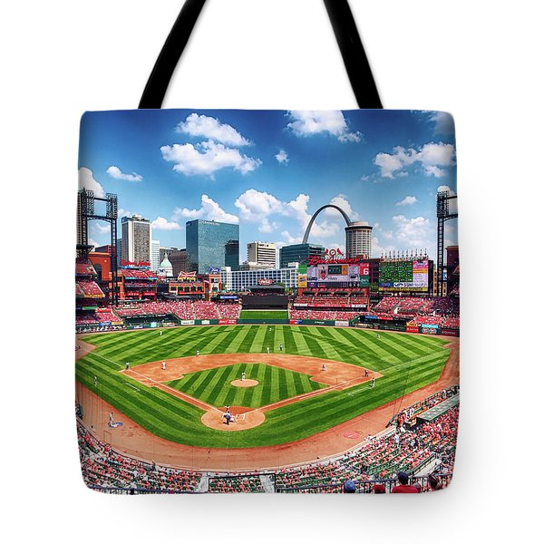 Busch Stadium Section 249 Tote Bag