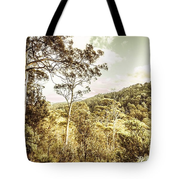Bush Views And Lookouts Tote Bag