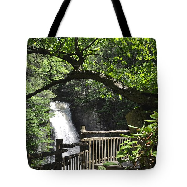 Bushkill Fall - One Tote Bag