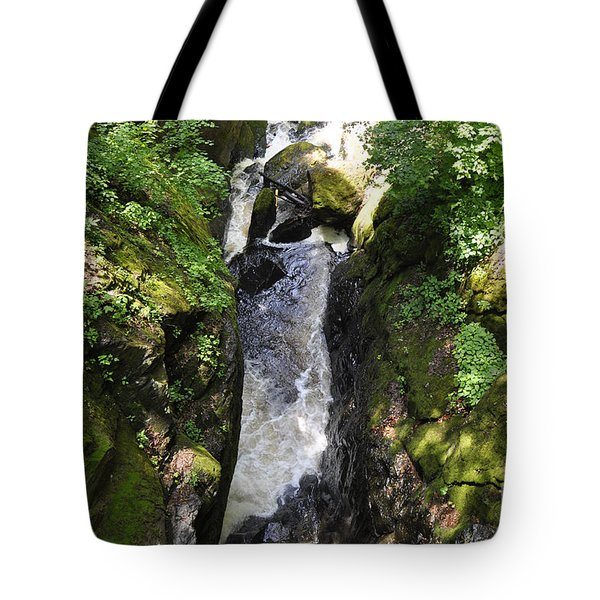 Bushkill Fall - Three Tote Bag