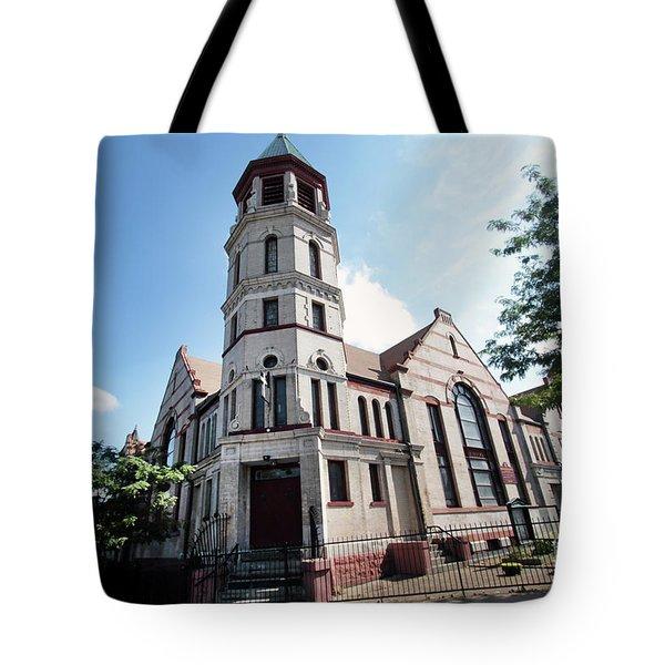 Bushwick Avenue Central Methodist Episcopal Church Tote Bag
