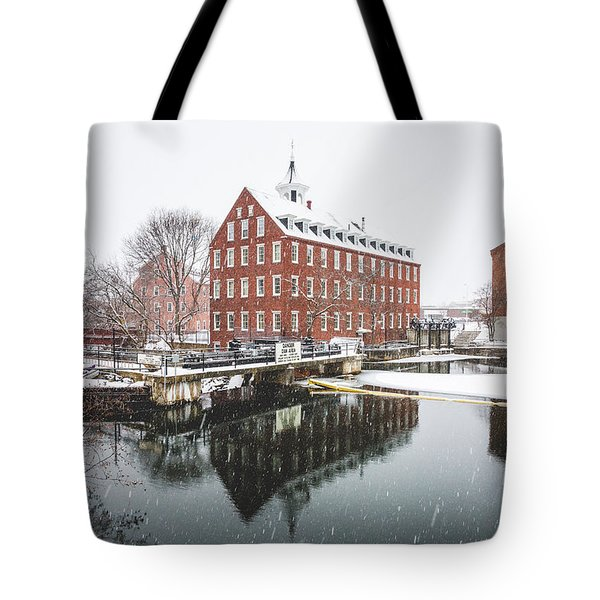 Tote Bag featuring the photograph Busiel-seeburg Mill by Robert Clifford