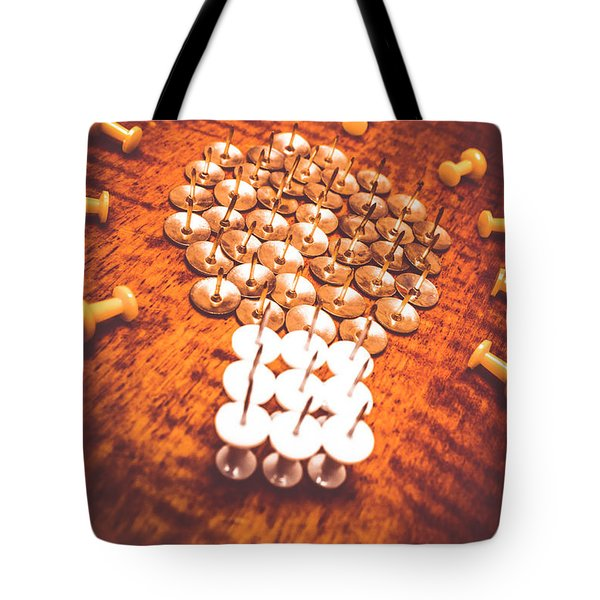 Busiiness Still Life Ideas Tote Bag