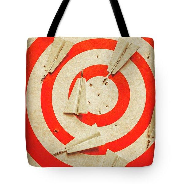 Business Target Practice Tote Bag
