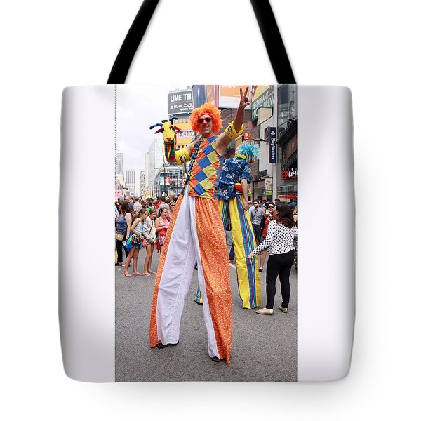 Busker Fest In Toronto August 2014 Tote Bag